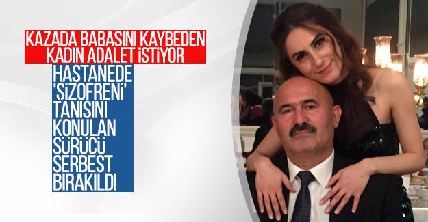 Kazada babasını kaybeden kadın adalet istiyor