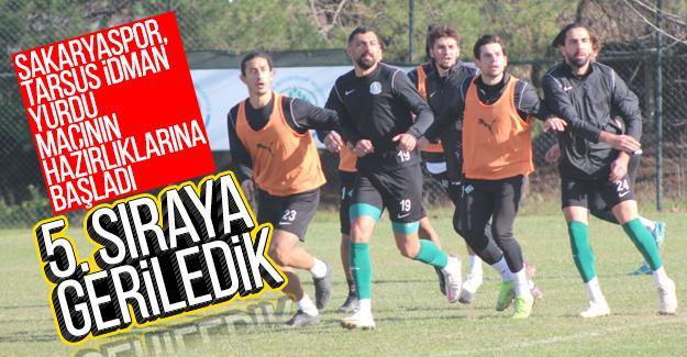 Sakaryaspor, Tarsus İdman Yurdu maçının hazırlıklarına başladı