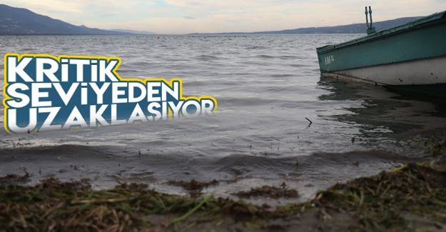Sapanca Gölü'nden sevindiren haber