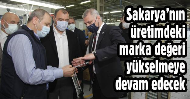 Vali Kaldırım ve SATSO Başkanı Altuğ'dan OSB ziyareti