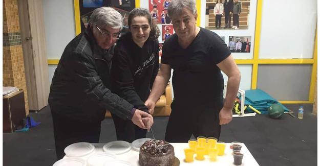 Avrupa şampiyonuna doğum günü sürprizi