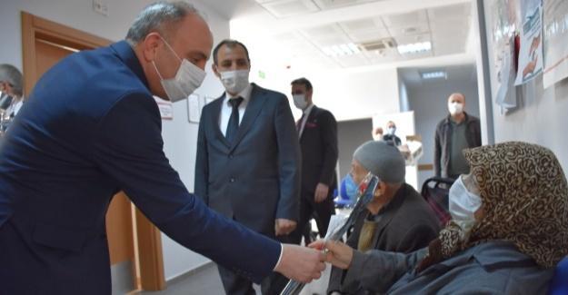 Başkan Kılıç'tan 8 Mart ziyaretleri