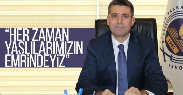 Başkan Akdardağan'dan 'Yaşlılar Haftası' açıklaması