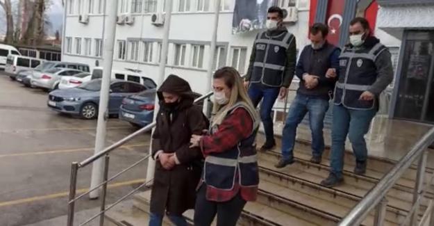 Dolandırıcı çift Bursa'da yakalandı!