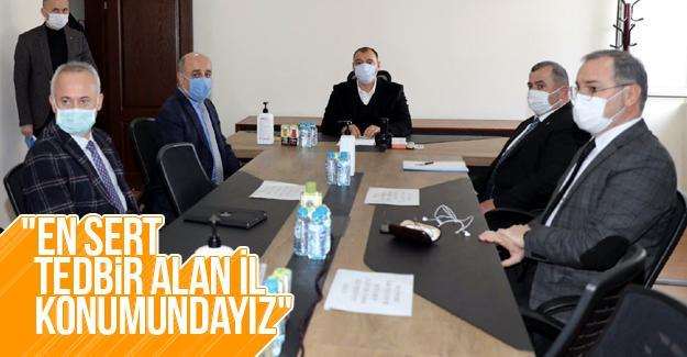 Kaynarca'da koronavirüs salgın toplantısı yapıldı
