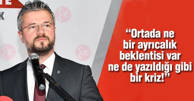 MHP'li Akar'dan tepki!