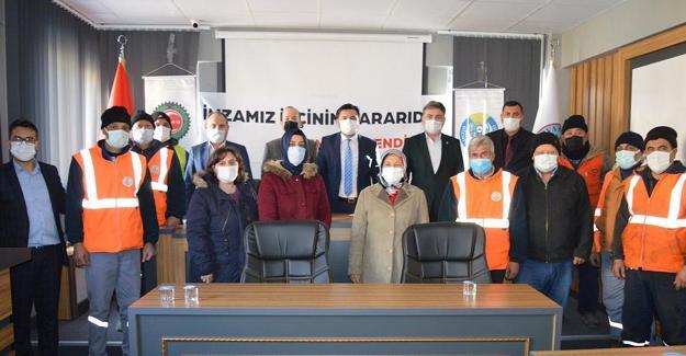Pamukova Belediyesi'nde toplu sözleşme imzalandı