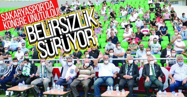 Sakaryaspor'da kongre unutuldu!