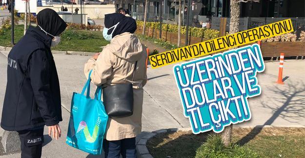 Üzerinden Dolar ve Türk Lirası çıktı