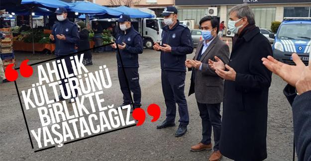 Serdivan'da Pazar tezgahları dualarla açıldı