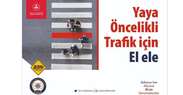 Trafikte farkındalık kampanyası