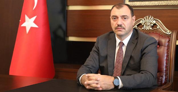 Vali Kaldırım'dan kutlama mesajı