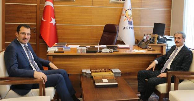Başkan Alemdar; Yazıcı ve Yavuz'a misafir oldu