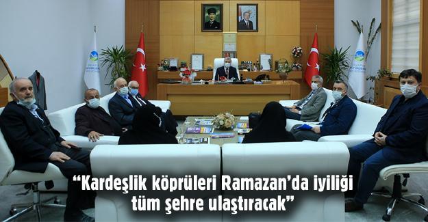Başkan Yüce STK temsilcileriyle bir araya geldi