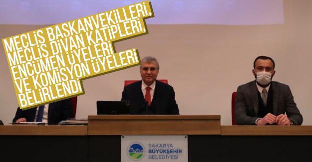 Büyükşehir Nisan Meclis toplantısı yapıldı