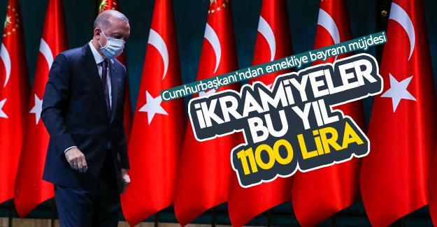 Cumhurbaşkanı Erdoğan'dan Bayram ikramiyesi müjdesi