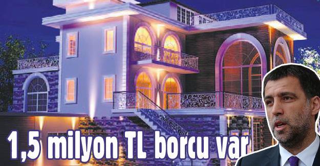 Hakan Şükür'ün evi hacizden satılıyor