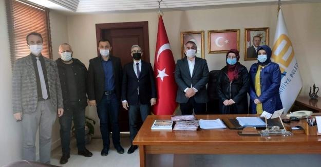 İlçe Başkanı Şekerli'den Başkan Karakullukçu'ya ziyaret