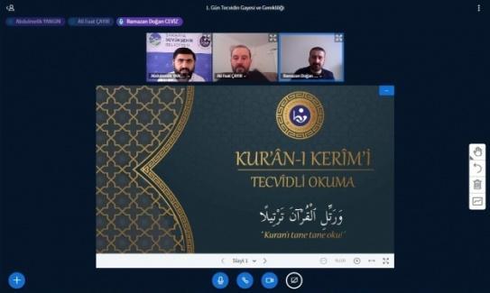 Kur'an-ı Kerim ve Osmanlı Türkçesi eğitimleri başladı