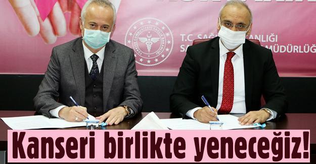 Sağlık Müdürlüğü ile işbirliği protokolü imzaladılar