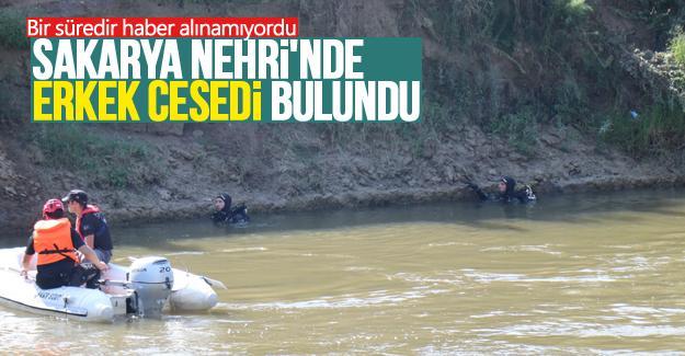 Sakarya Nehri'nde erkek cesedi bulundu