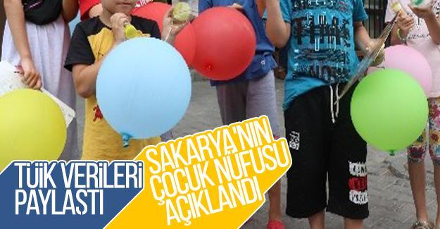 Sakarya'nın çocuk nüfusu açıklandı