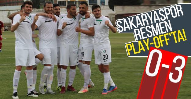 Sakaryaspor resmen Play-Off'ta!