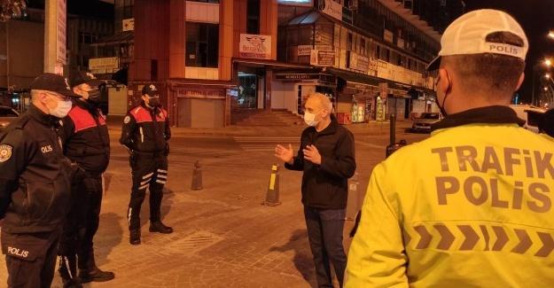 İl Emniyet Müdürü Kaya'dan polislere ziyaret
