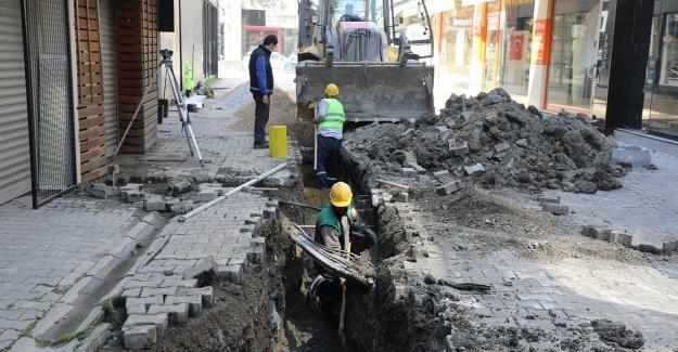 Büyükşehir o mahallede altyapı çalışmalarını başlattı