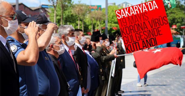 Sakarya'da 19 Mayıs korona virüs gölgesinde kutlandı