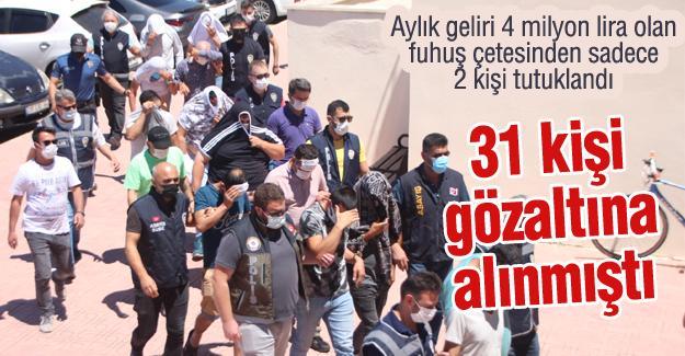 31 kişi gözaltına alınmıştı! 2'si tutuklandı