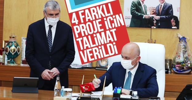 Bakan Karaismailoğlu Büyükşehir'de