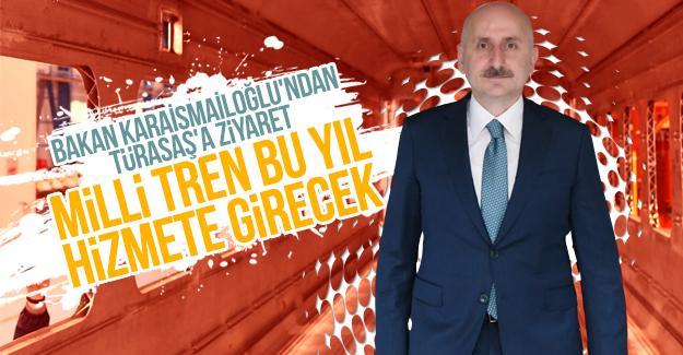 """Bakan Karaismailoğlu: """"Milli tren bu yıl hizmete girecek"""""""