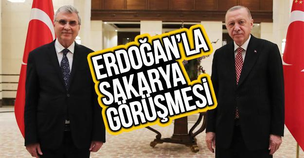 Cumhurbaşkanı Erdoğan Sakarya'yı dinledi