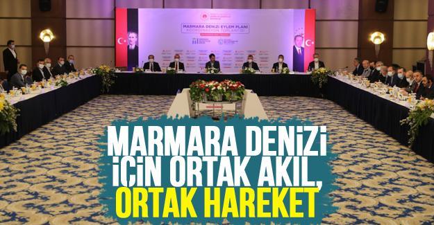Marmara Denizi için toplandılar