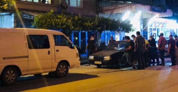 Panelvan ile otomobil çarpıştı! 1 yaralı