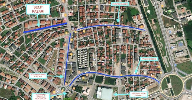 Serdivan'a yeni semt pazarı