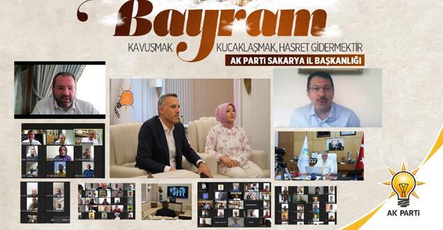 AK Parti Sakarya Teşkilatı bayramlaştı