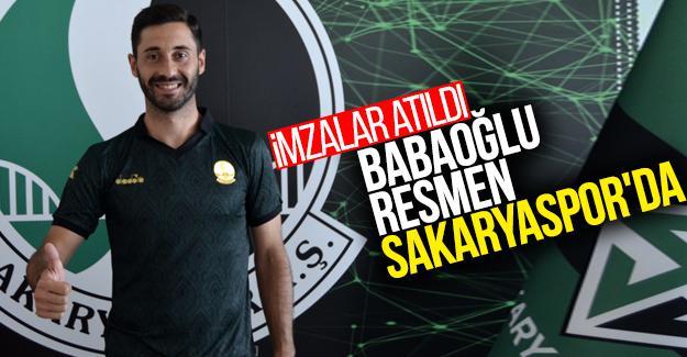Babaoğlu resmen Sakaryaspor'da