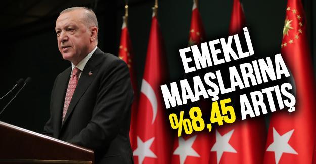 Cumhurbaşkanı Erdoğan emeklilere müjdeyi verdi!