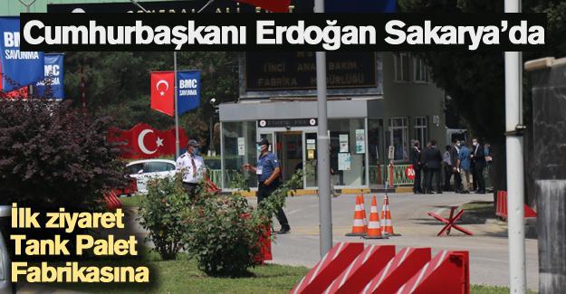 Cumhurbaşkanı Erdoğan Sakarya'da!