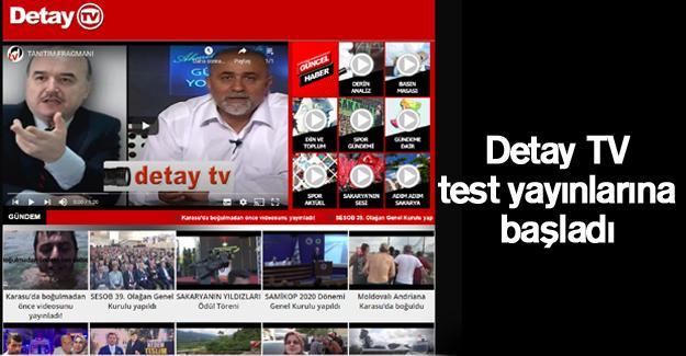 Detay TV test yayınlarına başladı