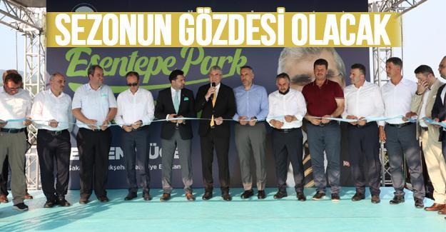 Esentepe Park görkemli bir törenle açıldı