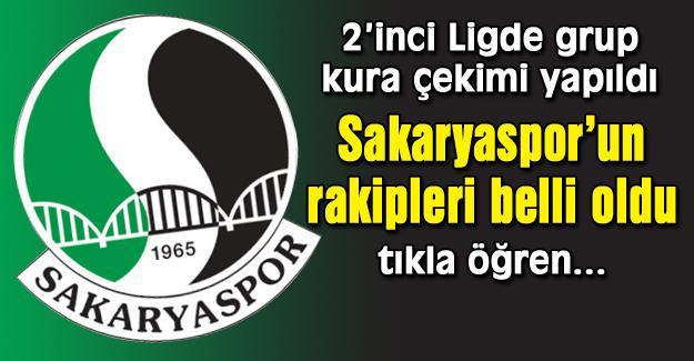 İşte Sakaryaspor'un rakipleri