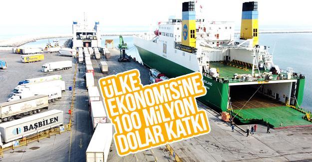 Karadeniz'de ki ticari hacmi en büyük ikinci liman