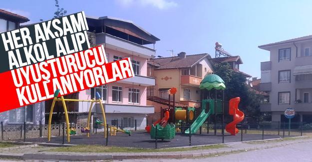 Mahallelinin çocuk parkı isyanı