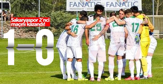 Sakaryaspor 2'nci maçını kazandı!