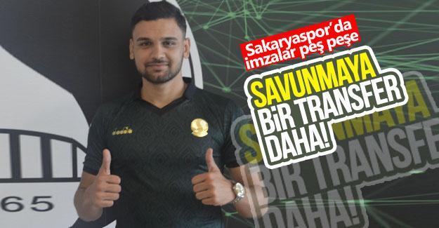 Sakaryaspor'dan savunmaya bir transfer daha!
