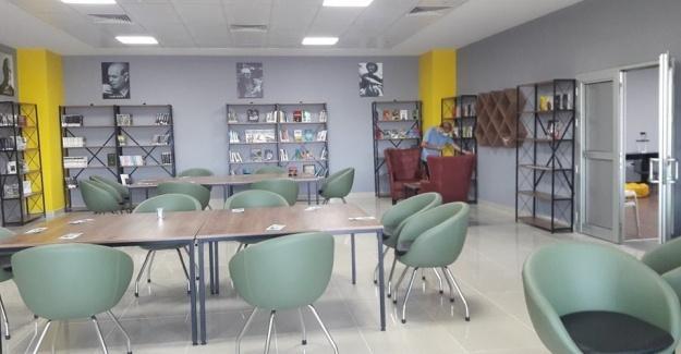 Yeni stadyuma kütüphane