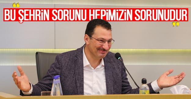 Ali İhsan Yavuz SATSO toplantısına katıldı